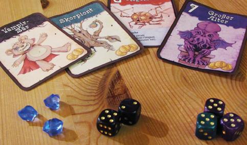 Was ist ein Würfel-Kartenspiel?
